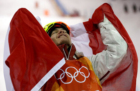 APTOPIX Pyeongchang Olympics Freestyle Skiing Men