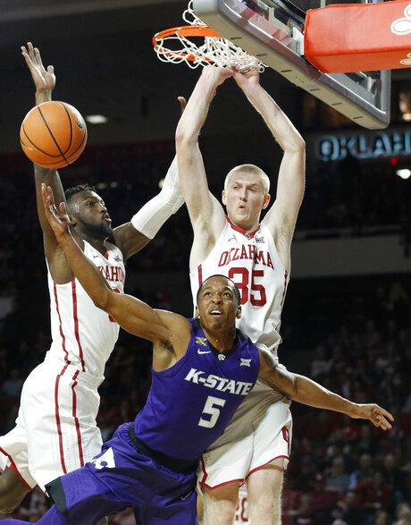 Kansas State Oklahoma Basketball