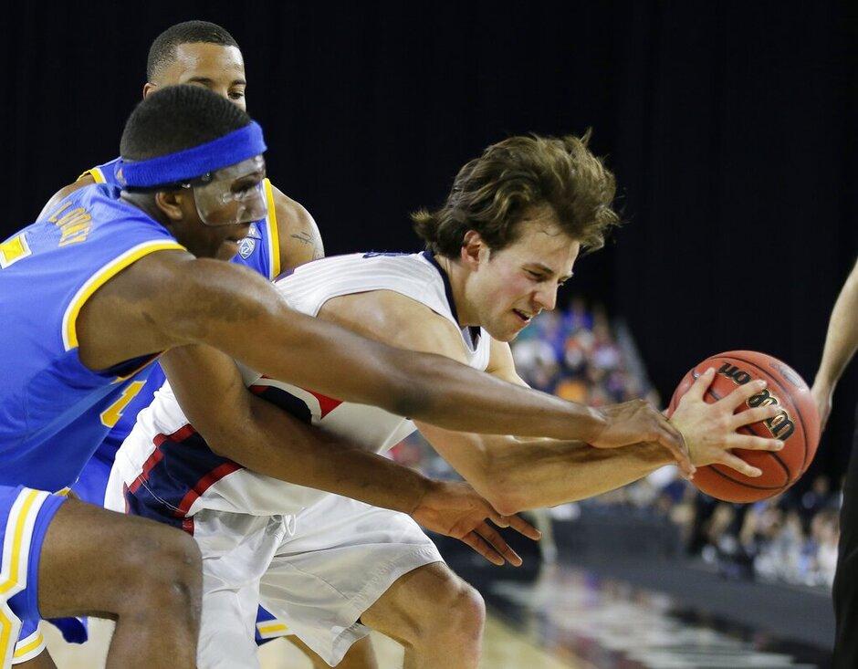 NCAA Gonzaga UCLA Basketball