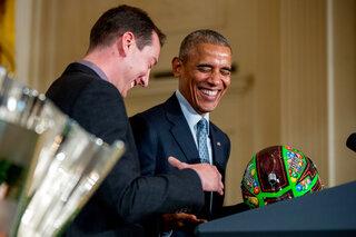 Barack Obama, Kyle Busch
