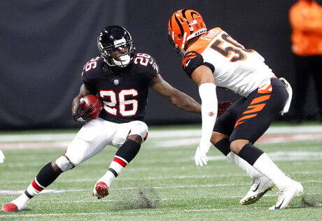 Bengals Falcons Football