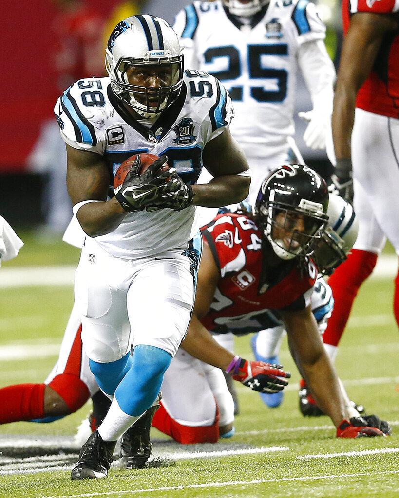 Thomas Davis ,Roddy White