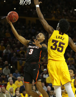 Pacific Arizona St Basketball