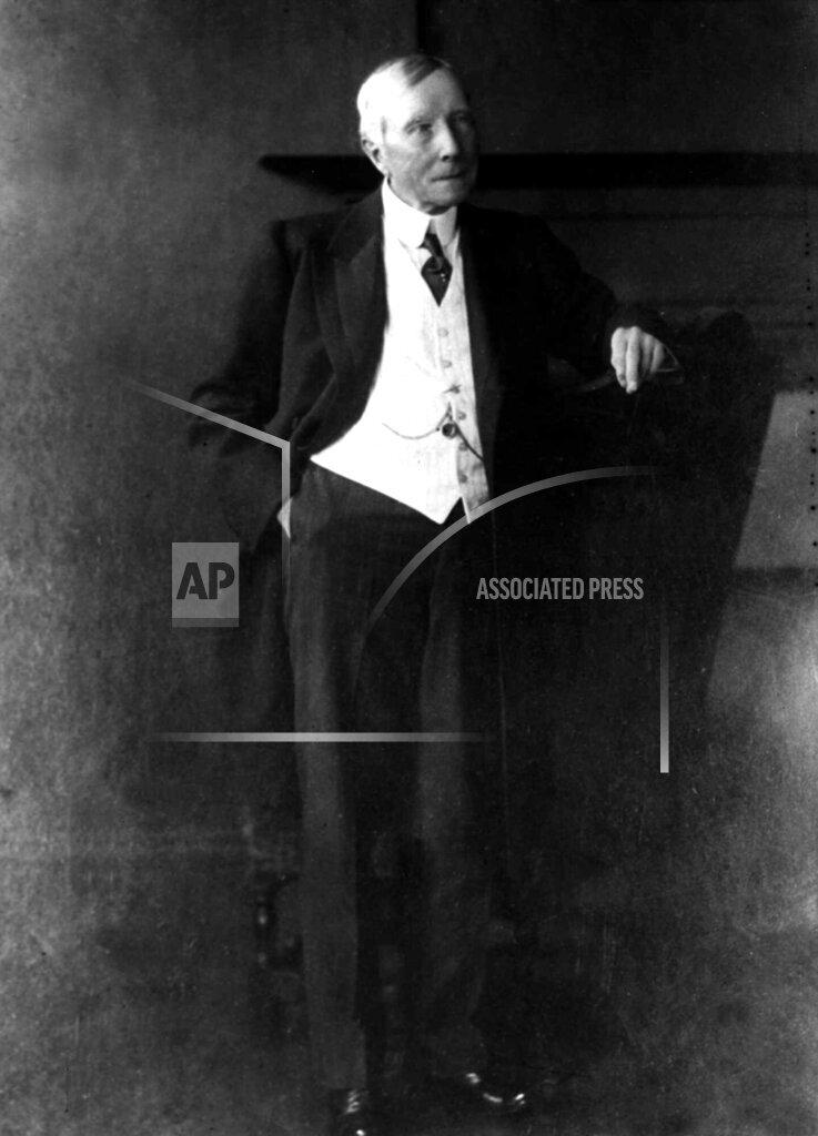 Associated Press Domestic News New York United States JOHN ROCKEFELLER SR.