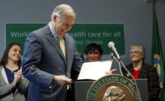 Washington Governor Health Care