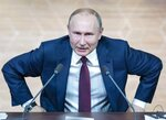 FILE In this file photo taken on Thursday, Dec. 19, 2019, Russian President Vladimir Putin leaves his annual news conference in Moscow, Russia. Russian President Vladimir Putin prepares to mark his 20th year in power, as the longest-serving leader since Joseph Stalin. (AP Photo/Pavel Golovkin, File)