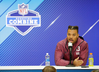 Guice Interviews Football