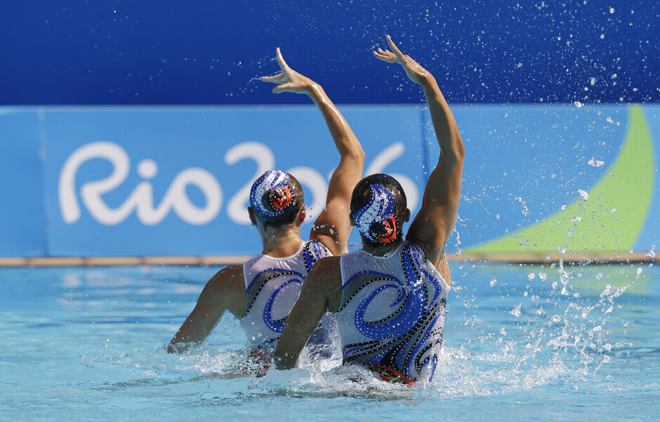 Rio Olympics Synchronized Swimming