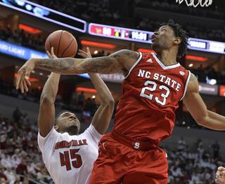 NC State Louisville Basketball