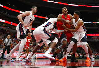 APTOPIX Ohio St Illinois Basketball