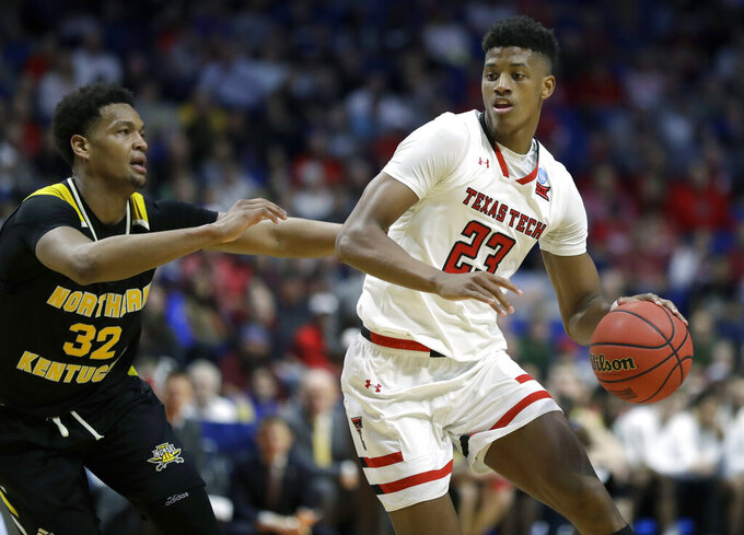 Texas Tech-Buffalo gives high-octane guard matchup in NCAAs