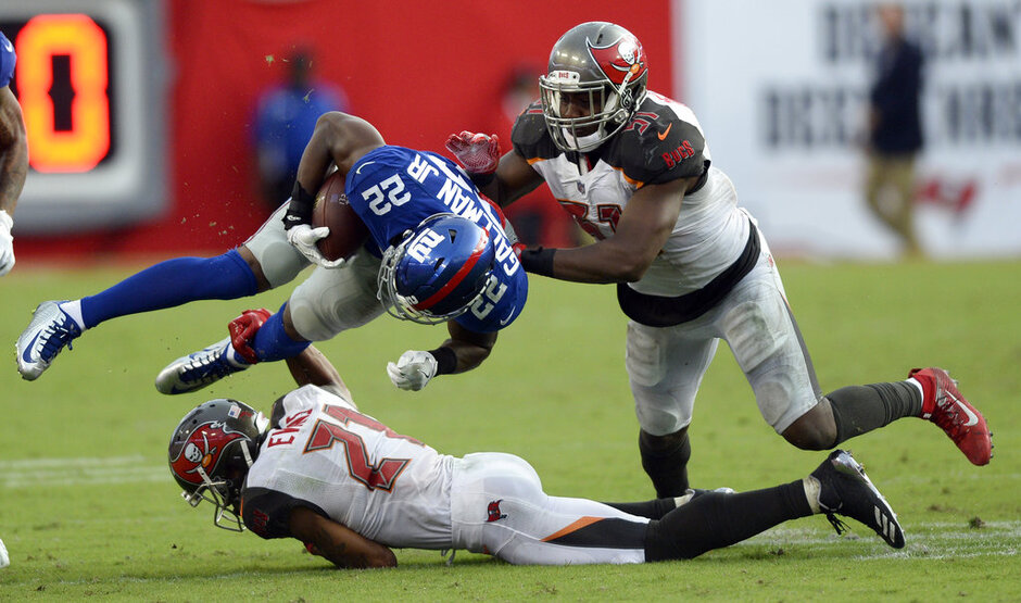 Giants Buccaneers Football