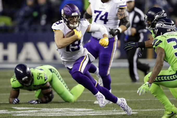 Hungry? Adam Thielen has a Thursday night cure