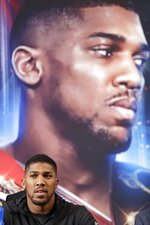 British boxer Anthony Joshua listens during a news conference, Tuesday, Feb. 19, 2019, in New York, to promote his upcoming fight against Jarrell Miller. (AP Photo/Frank Franklin II)