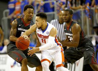 Arkansas Florida Basketball