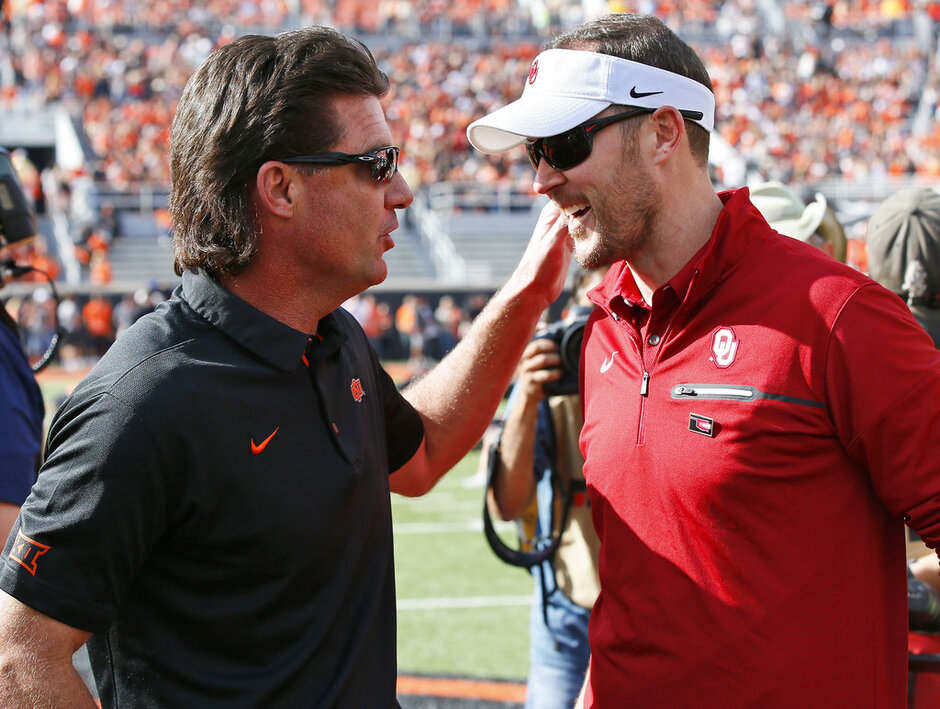 Mike Gundy, Lincoln Riley