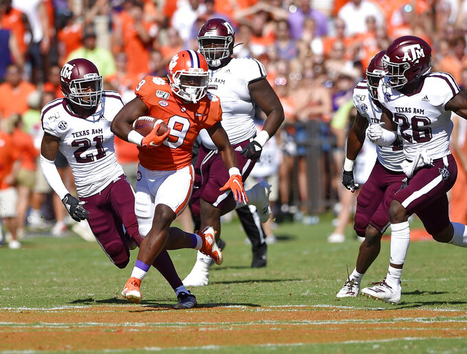 No. 1 Clemson visits Syracuse in key ACC matchup