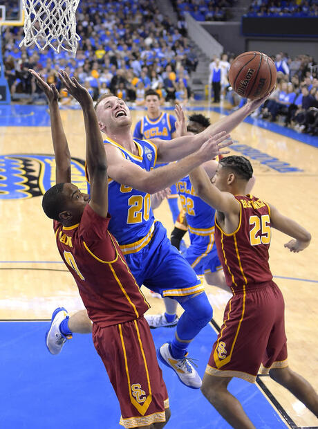Bryce Alford, Shaqquan Aaron, Bennie Boatwright