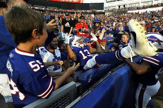 APTOPIX Panthers Bills Football