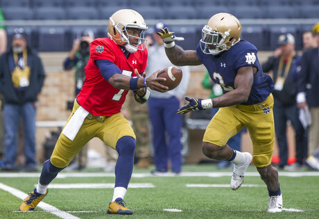 Notre Dame Spring Football