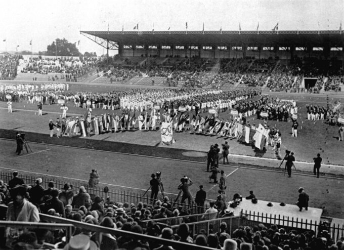 Paris Olympics in 1924 set stage for Hollywood endings