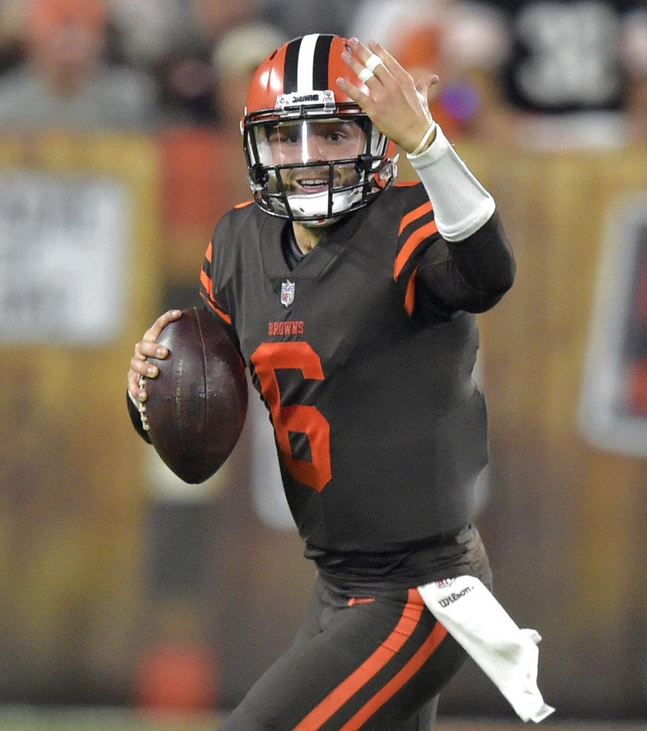 Browns Baker Effect Football