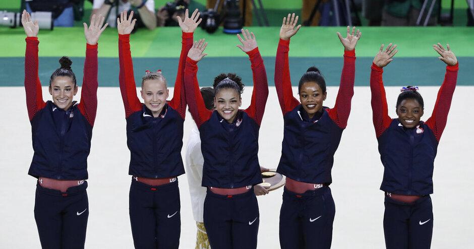 APTOPIX Rio Olympics Artistic Gymnastics Women