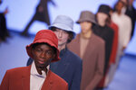 Models wear creations for the Paul Smith Mens Fall/Winter 2020-2021 fashion collection presented in Paris, Sunday Jan. 19, 2020. (AP Photo/Francois Mori)