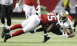Falcons Jones Campbell Football