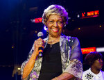 FILE - In this May 11, 2013, file photo, Cissy Houston performs during McDonald's Gospelfest 2013 at the Prudential Center in Newark, N.J. Houston is among this year's inductees into the New Jersey Hall of Fame announced Wednesday, Aug. 5, 2020. (Photo by Charles Sykes/Invision/AP, File)