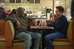 This image released by Roadside Attractions shows Samuel L. Jackson, left, and Sebastian Stan in a scene from
