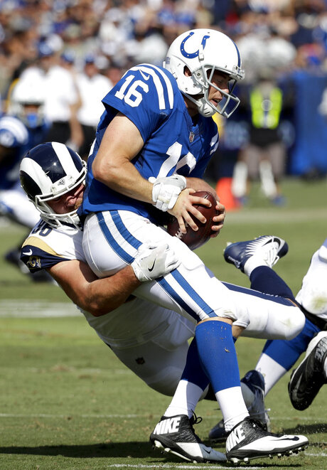 Colts Rams Football