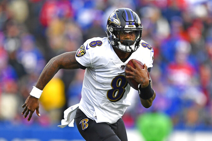 Ravens seek 10th straight win, AFC North title against Jets