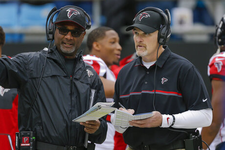 Falcons Coordinators Fired Football