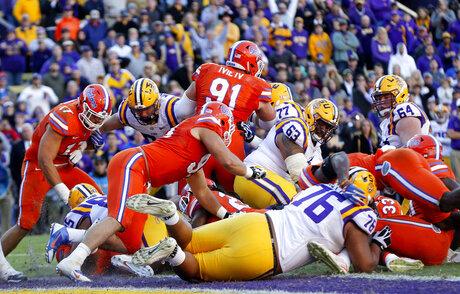 LSU-Florida Angst Football