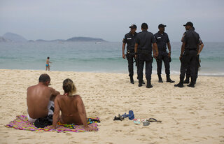 Brazil Rio Security Cuts