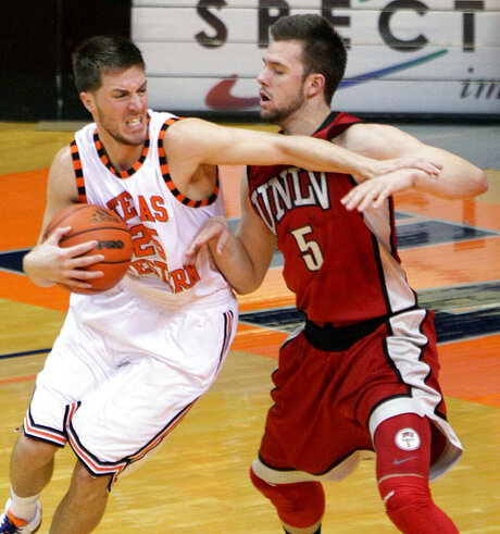 UNLV UTEP Basketball