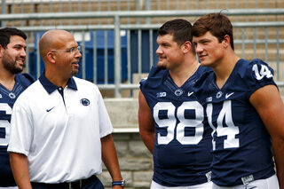 Penn State photo day, August 9, 2015