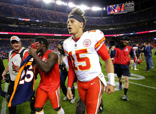 Chiefs Broncos Football
