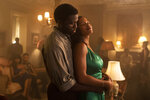 This image released by Universal Pictures shows Y'lan Noel, left, and Chanté Adams in