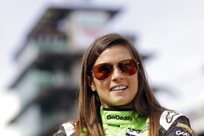Danica Patrick to lead Indy 500 field in Chevy pace car