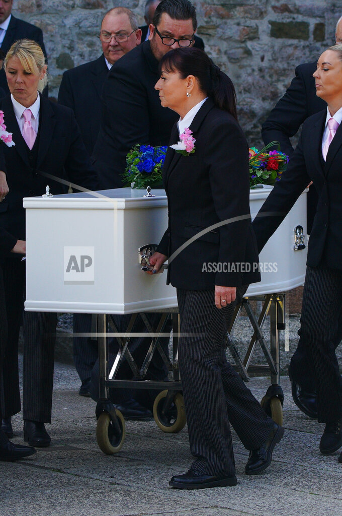 Plymouth shootings funeral