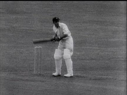 Notts Cricket Centenary.