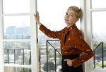FILE - This Sept. 27, 2018 photo shows Michelle Williams, a cast member in the film
