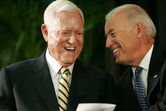 Fritz Hollings, Joe Biden