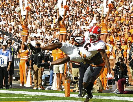 Georgia Tennessee Football