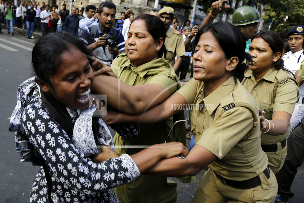 India Child Trafficking Protest