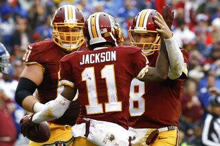 DeSean Jackson, Kirk Cousins