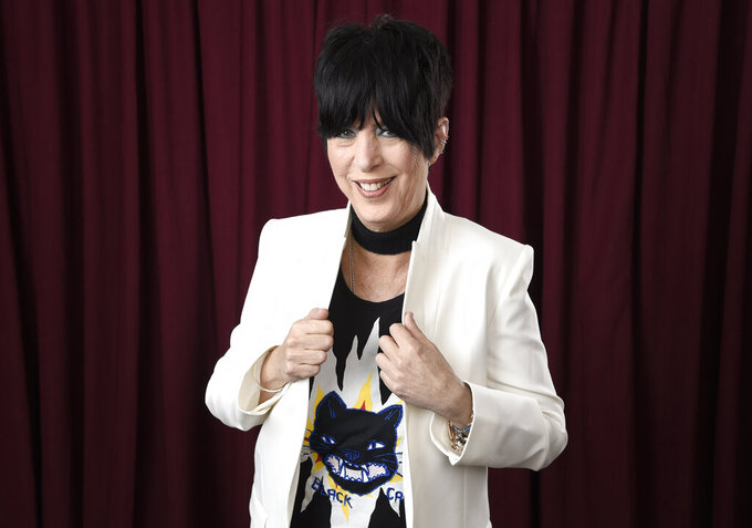 """FILE - Diane Warren poses for a portrait at the 90th Academy Awards Nominees Luncheon on Feb. 5, 2018, in Beverly Hills, Calif. Warren is nominated for an Oscar for best original song for her work in """"The Life Ahead"""" starring Sophia Loren. (Photo by Chris Pizzello/Invision/AP, File)"""