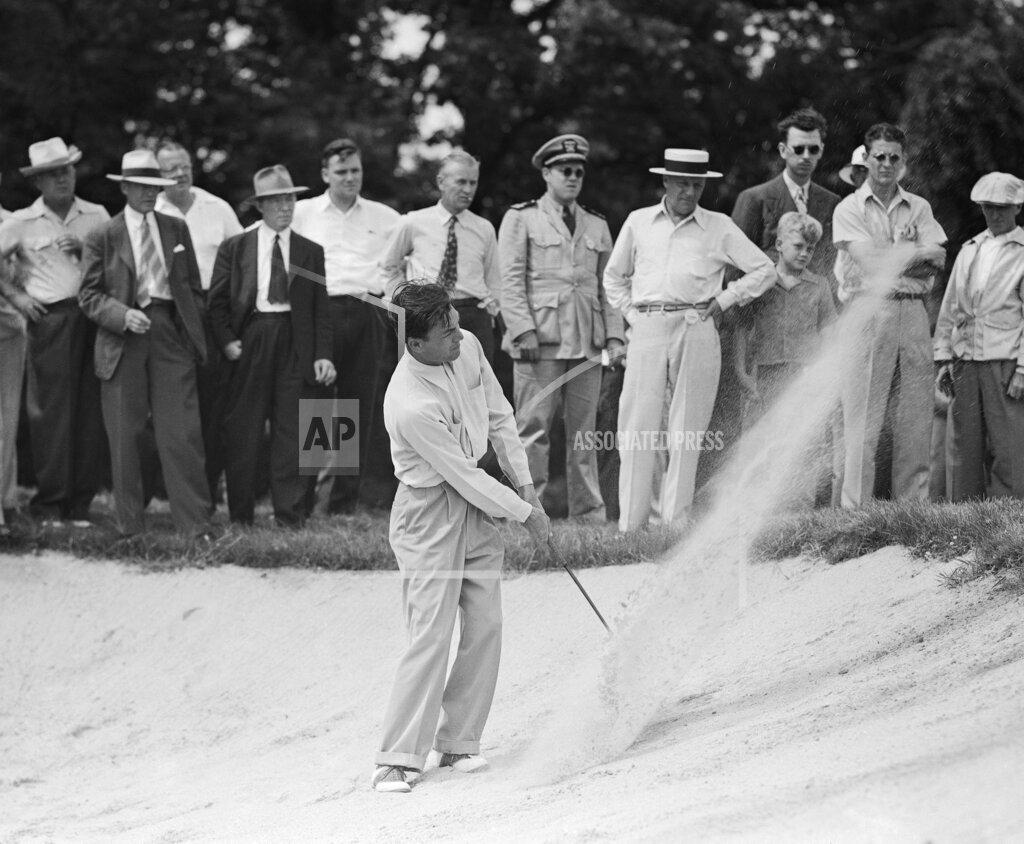 Watchf Associated Press Sports Golf Illinois United States APHS125776 Ben Hogan               golfer   1942